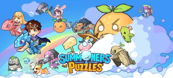 Summoners and Puzzles Key Art