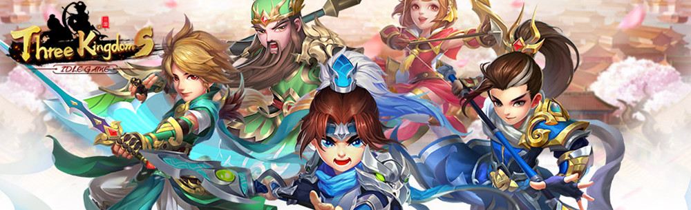 Three Kingdoms Idle Games Giveaway Wide Banner