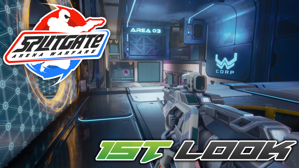 Colton takes a look at the closed alpha for SplitGate Arena Warfare!