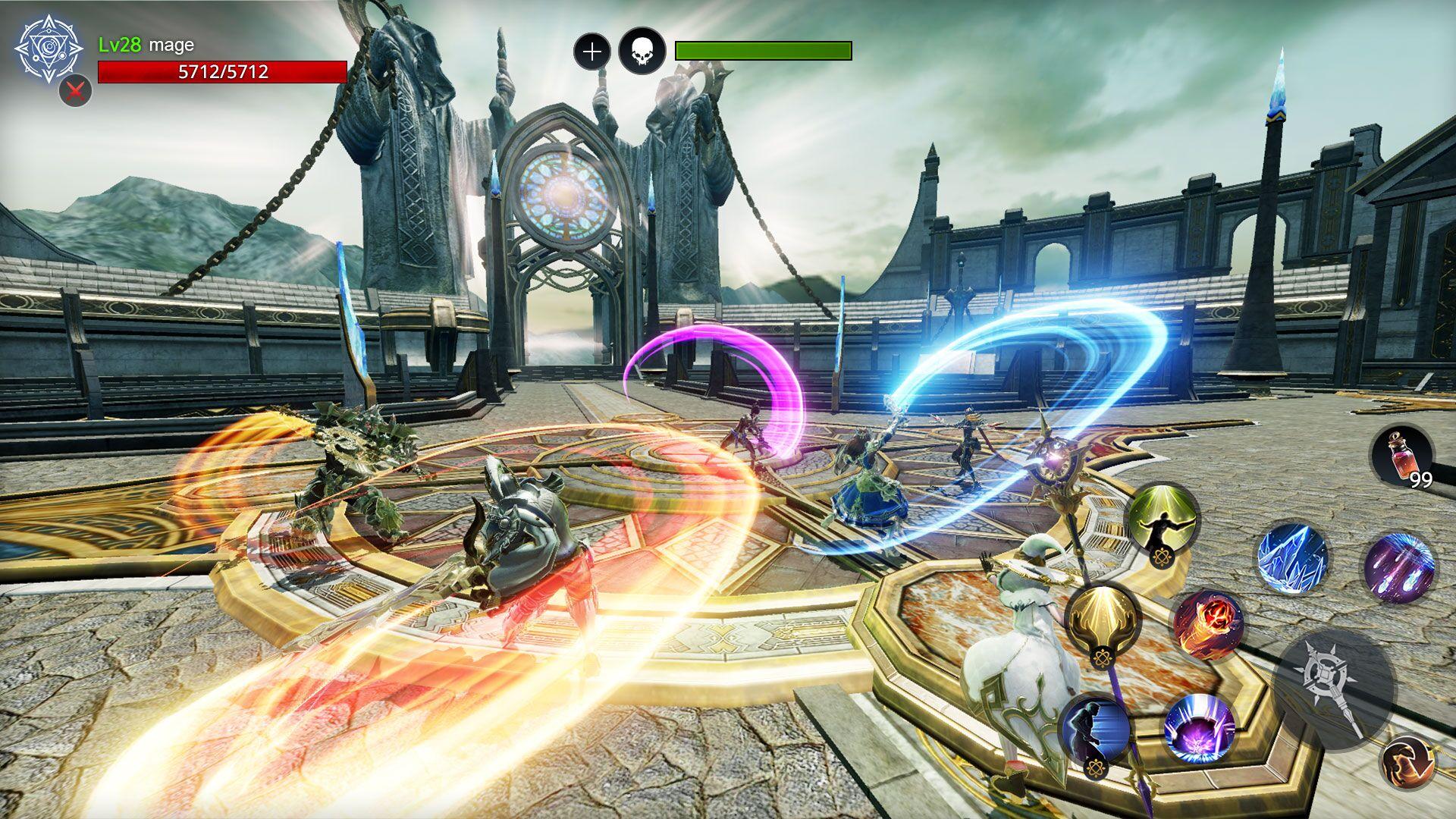 Alliance vs. Empire Press Preview Screenshot