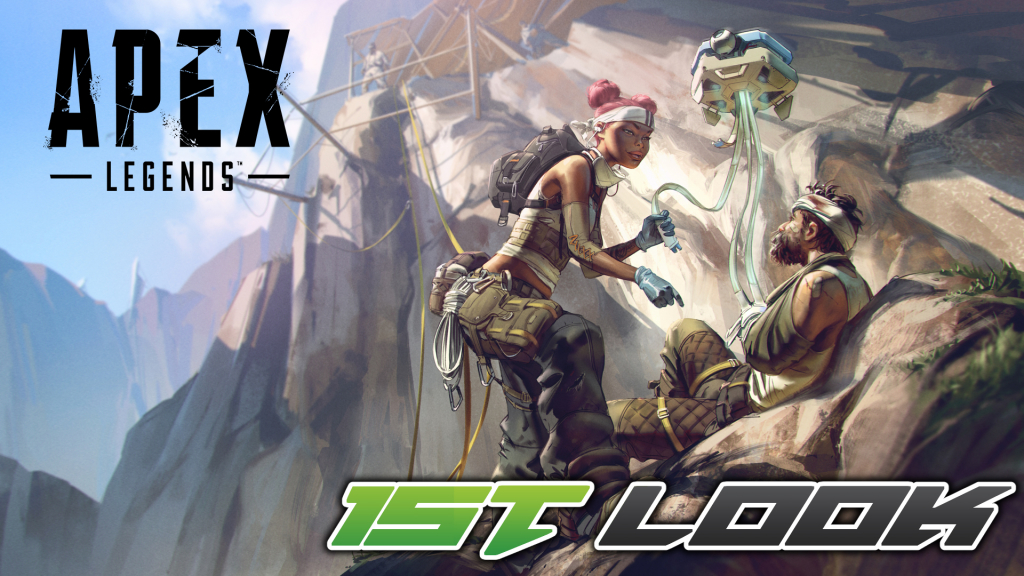Colton takes a first look at Apex Legends!