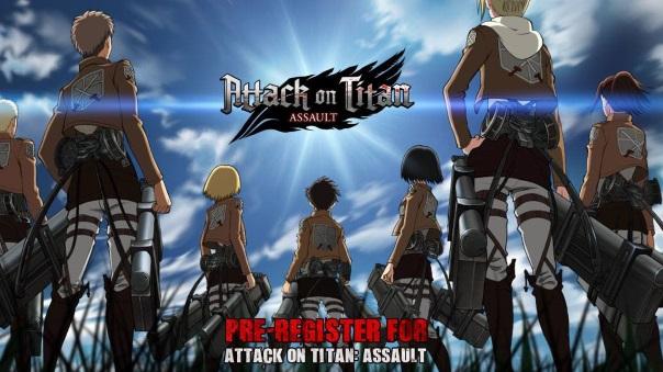 Attack on Titan Assault Pre-Reg news