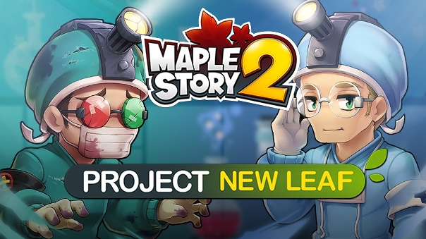 MapleStory Project New Leaf Header