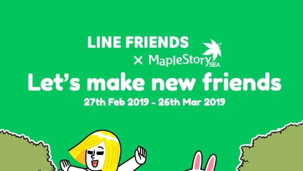MapleStorySEA x LINE FRIENDS image