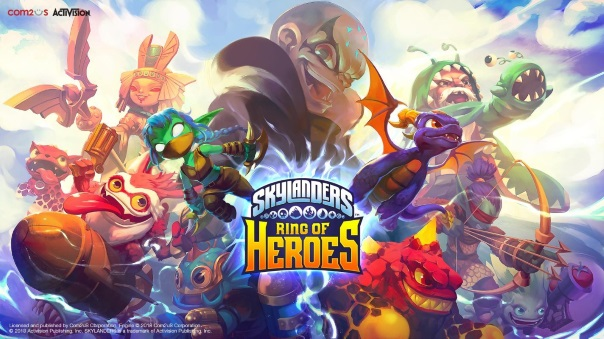 Skylanders Ring of Heroes Launch