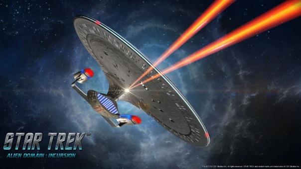 Star Trek Alien Domain Incursion launch