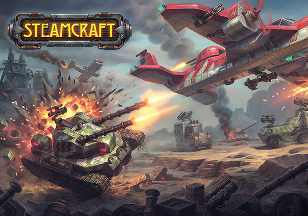 Steamcraft Game Profile Banner