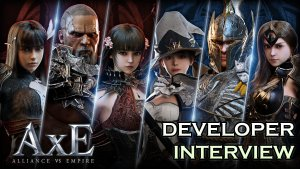 Alliance vs Empire developers sat down with Jason to discuss their new mobile MMORPG!