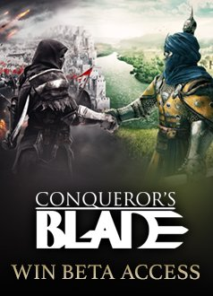 Conqueror's Blade CBT Key Giveaway MMOHuts Thumbnail