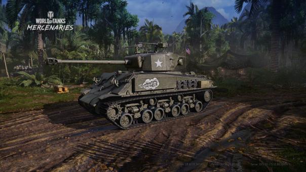 World of Tanks Mercenaries 5-Year Anniversary