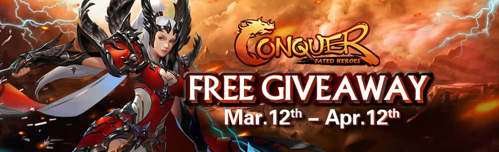 Conquer Online MMOHuts Giveaway Banner