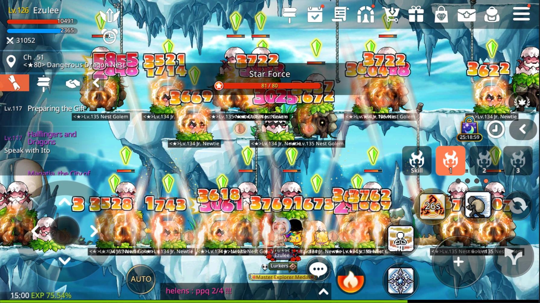 MapleStory M Shadower Gameplay Screenshot