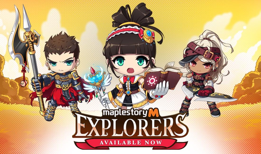 MapleStory M Three Explorers