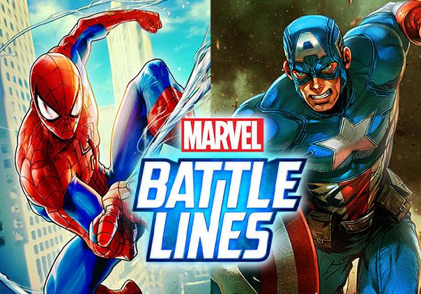 Marvel Battle Lines Game Profile Image