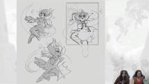 Meet Brawlhalla Artist Lea! - Brawlhalla Dev Stream Montage