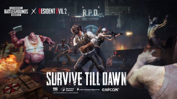 PUBG Mobile Resident Evil 2 collab
