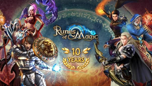 Runes of Magic 10th year