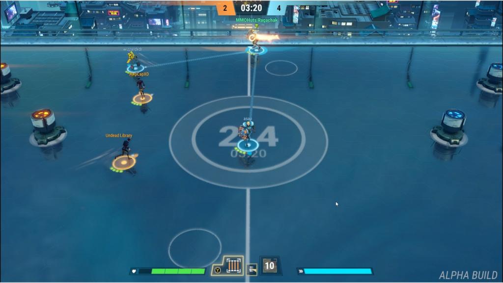 Steel Circus Alpha Screenshot