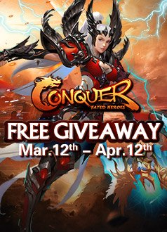Conquer Online MMOHuts Giveaway Thumbnail