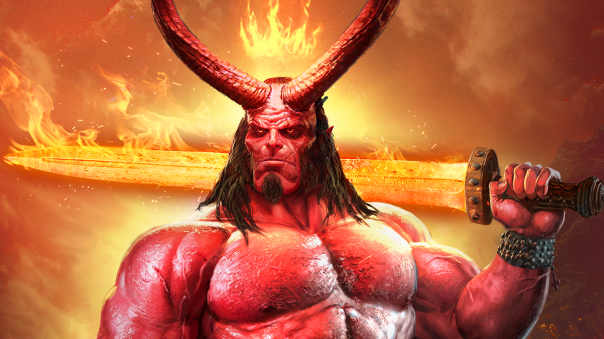 Legendary Game of Heroes Hellboy Crossover