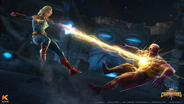 Marvel Contest of Champions Captain Marvel Screenshot