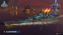 World of Warships April Fools