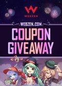 Webzen 10th Anniversary Coupon Giveaway Column