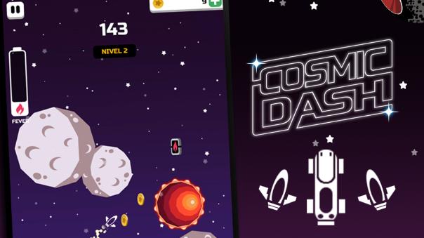 Cosmic Dash news