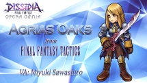 Dissidia Final Fantasy Opera Omnia Agrias teaser