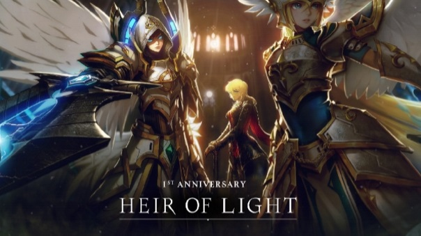 Heir of Light One-Year Anniversary Giveaway