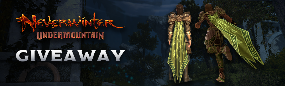 Neverwinter Undermountain Giveaway Wide Banner