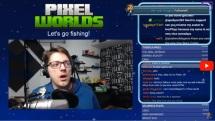 Pixel Worlds Fishing Nerf