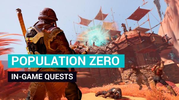 Population Zero Quests Blog