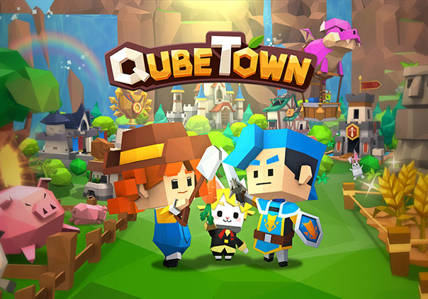 QubeTown Profile Header