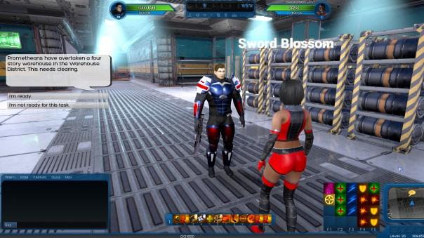 Ship of Heroes UI Update