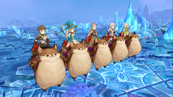 Tales of Wind launch
