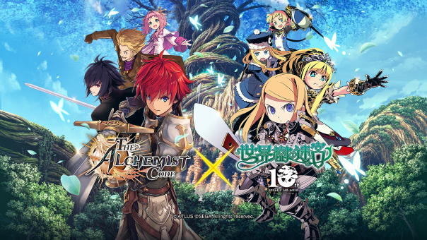 The Alchemist Code and Etrian Odyssey Collaboration