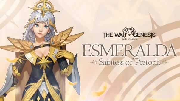 War of Genesis Esmeralda Update
