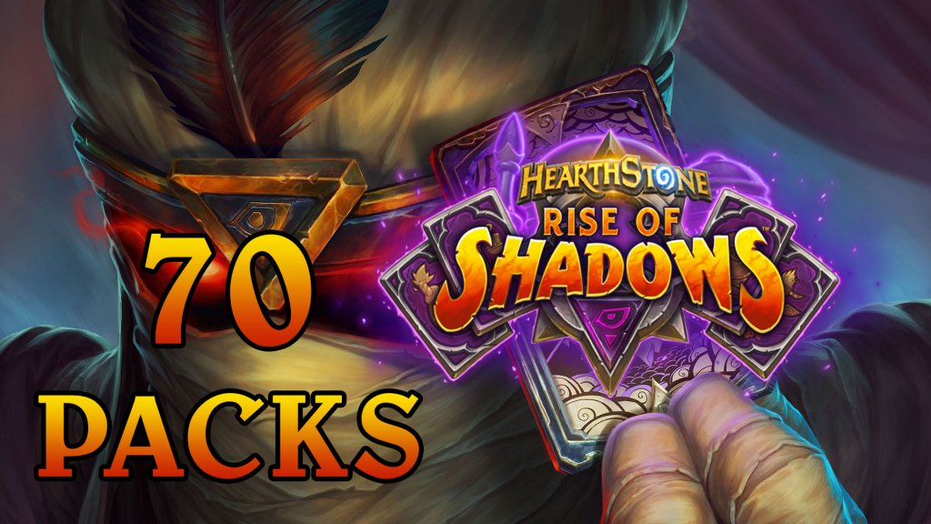 Jason sat down to open up 70 Hearthstone Rise of Shadows booster packs!