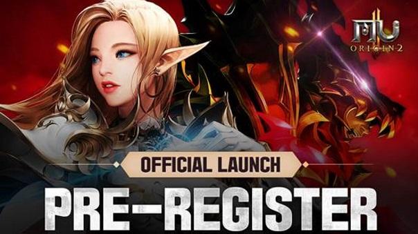 MU Origin 2 Pre-Register