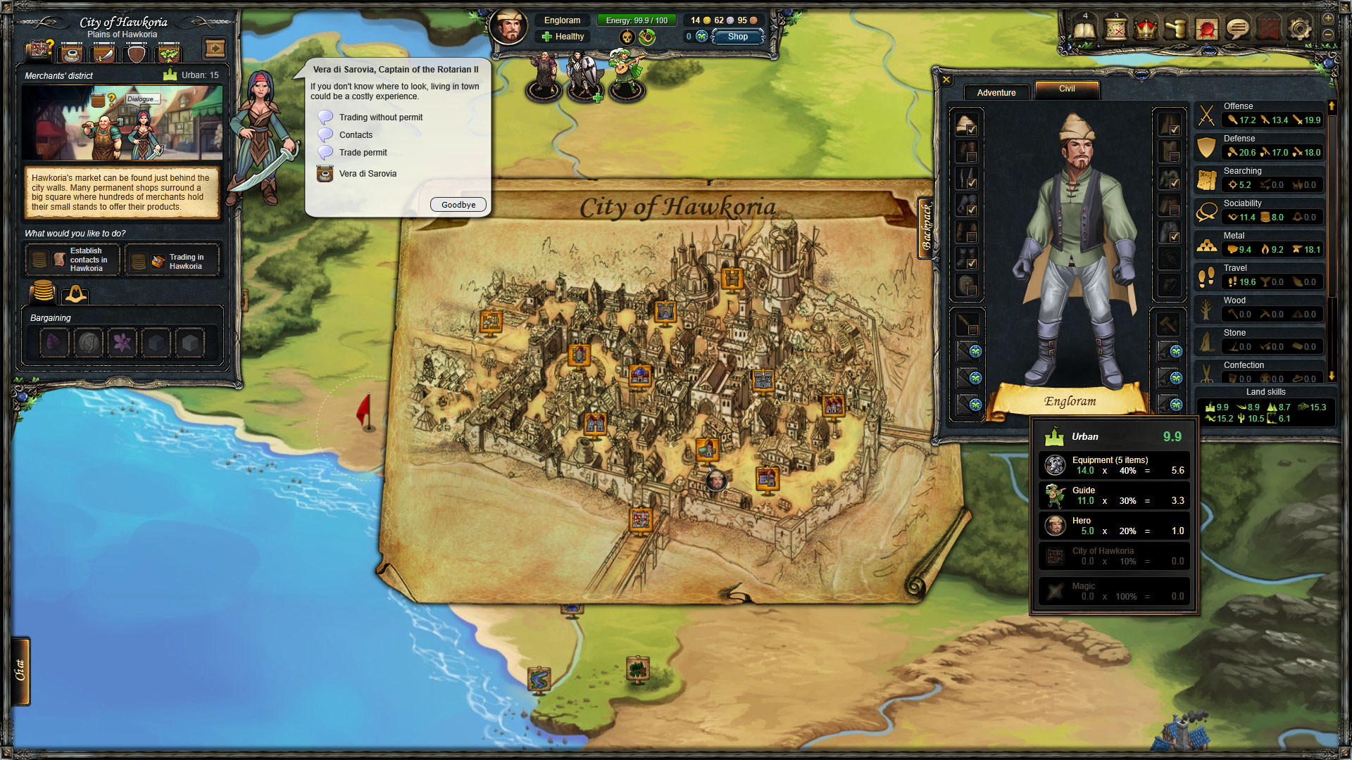 Therian Saga Screenshot