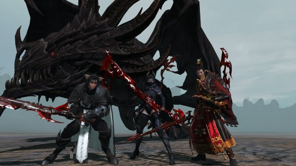 ArcheAge Black Dragon Boss