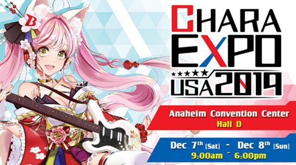 CharaExpo USA 2019
