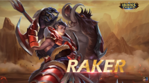 Heroes Evolved Raker Intro and Borgon Skin