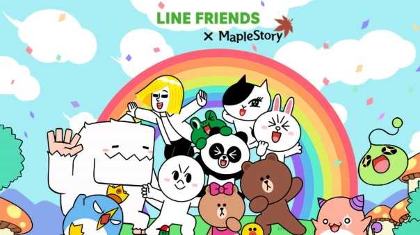 MapleSTory x Line Friends collaboration guide