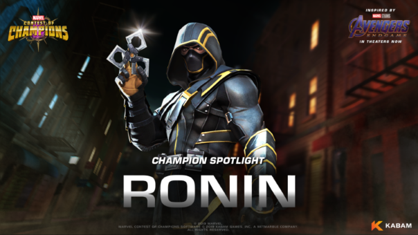 Marvel Contest of CHampions Ronin