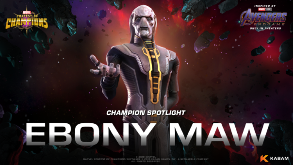Marvel Contest of Champions Ebony Maw spotlight