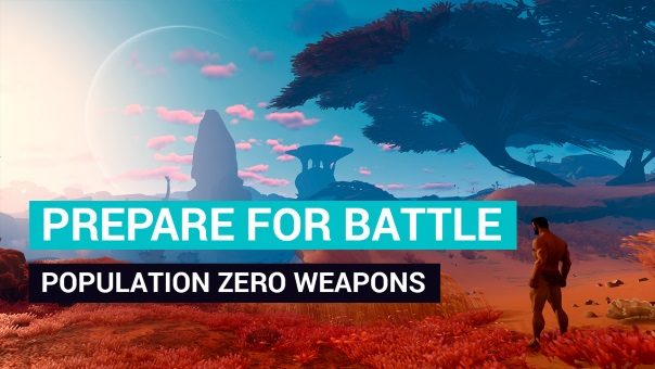 Population Zero Weapons Blog