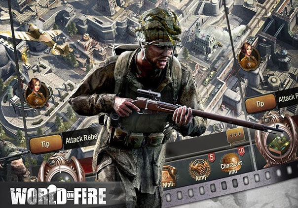 World on Fire Profile Banner