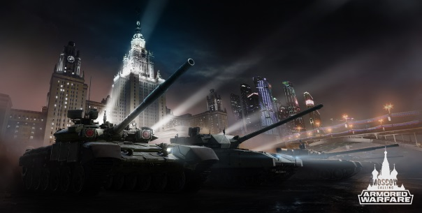 Armored Warfare Moscow Story